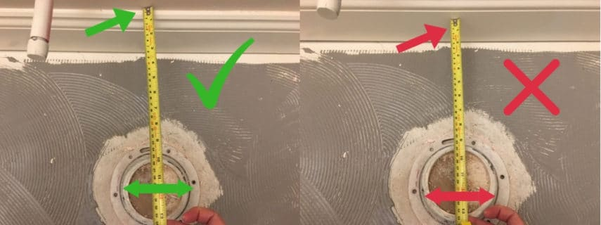 """How To Measure A Toilet Rough In (10"""", 12"""", 14"""" Sizes)"""